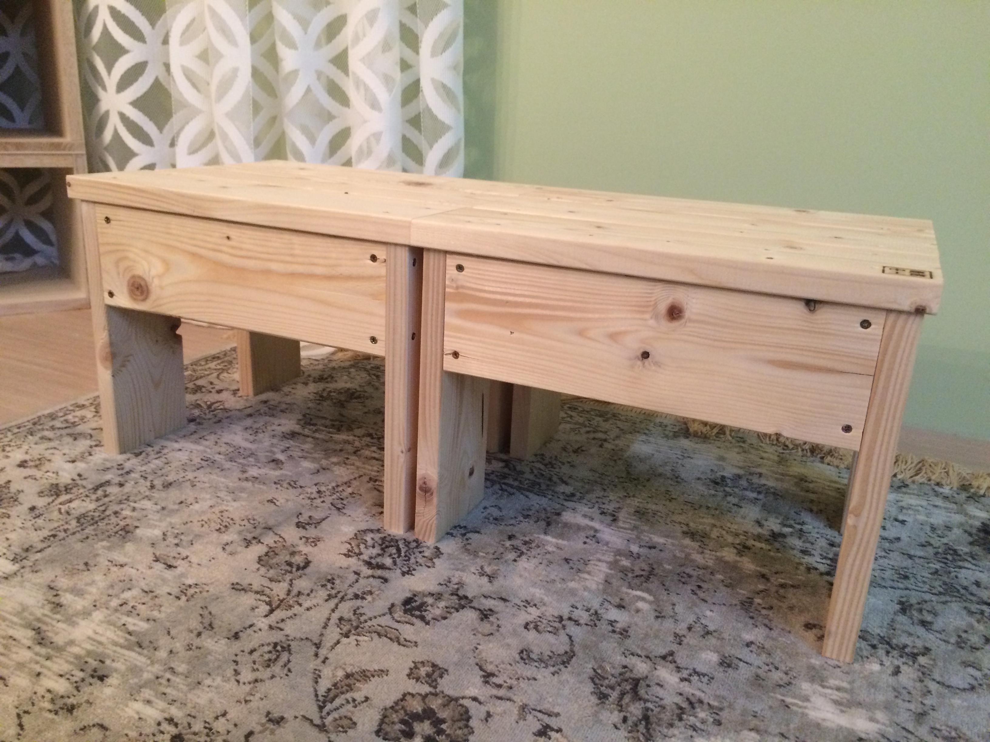 木工スタッキングスツール